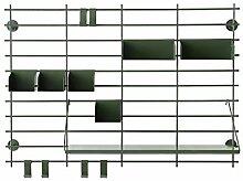 GYP Multifunktionale Aufbewahrungsregal, Wanddekoration Rahmen Mantel Rack Lagerung Und Finishing Kleiderbügel Modern Einfache 45 * 14 * 60cm, 86 * 26 * 60cm kaufen ( größe : 86*26*60cm )
