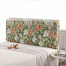 GYP Printing Double Soft Case Rückenlehne Bedside Big Kissen Canvas Home Kissen Lendenwirbel Schlafzimmer Back Pad Taille Kissen Wohnzimmer Sofa Kissen Bett Kissen kaufen ( Farbe : #1 , größe : 150*10*60CM )