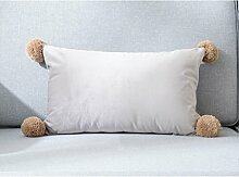 GYP Sofakissen, kreatives Kissen-Bett-Kissen-lumbales Kissen-minimalistische Art 30 * 50cm kaufen ( Farbe : #3 )