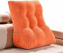 GYP Triangle Sofa Kissen schützen den Hals schützen die Taille Bedside Rückenlehne Bett Sofa Kissen waschbar Office Soft Case Home Lendenwirbel Schlafzimmer Erwachsene Back Pad Taille Kissen Wohnzimmer Kissen kaufen ( Farbe : #3 , größe : 45*30*55CM )