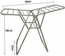 GYP Trockner Rack Faltbar Verstellbare Boden Typ Trockner Rack Balkon Kleiderbügel Clotheshorse Windeln Frame kaufen ( größe : B )