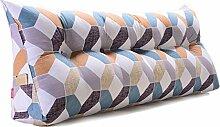GYP Zwei-Personen-Bett Dreieck Kissen Kissen, Dimensional Home Kissen Taille Kissen Sofa zurück weichen Tasche Bett groß Taille Schutz Stuhl Kissen zurück Schützen Sie die Rückseite, gefüllte Baumwolle 90-150cm kaufen ( Farbe : #2 , größe : 150CM )