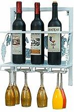 GYUEF Weinflaschenregal Weinregal An Der Wand