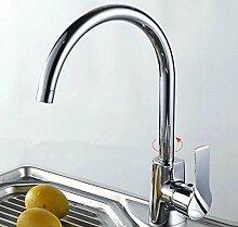 GZD Alle Kupfer Schwarz Anziehbare Rotary Einhand-Ein-Loch-Waschbecken Wasserhahn
