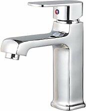 GZD alle Kupfer verchromtBathroom Waschbecken heiß und kalt Wasser gemischt Wasserhahn
