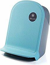 GZD Home Pedal kreativ Wohnzimmer Küche Kunststoff Bad überdacht Mülleimer , blue