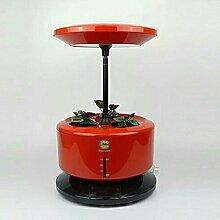 GZD Mikro wachsen Licht Garten automatische Pflanze Wachstum Maschine intelligente Pflanzmaschine vergossen Soilless Anbau Anlage Kontrolle Leistung 28W Größe 35-40CM , red