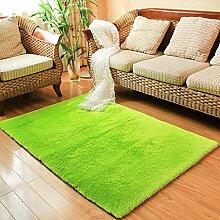 GZP Innenteppich Anti-skidCarpet Shaggy Teppich für Zuhause verdicken Wohnzimmer Couchtisch Teppich Schlafzimmer Teppich Decke (Farbe : A, größe : 150*230cm)