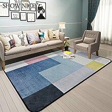 GZP Innenteppich Area Rug geometrisches Muster Teppich - modernes Wohnzimmer Schlafzimmer Sofa Home Bettdecke, Teppich Decke (Farbe : 4#, größe : 190CM×280CM)