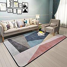 GZP Innenteppich Area Teppich groß Teppich, Wohnzimmer Teppich Schlafzimmer Nachttisch Teppich, Sofa, Büro, Home Waschbar, rutschfest Decke (Farbe : #3, größe : 180*180cm)