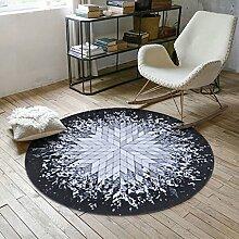 GZP Innenteppich Designer Teppich Runde Teppich