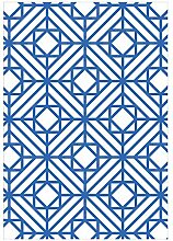 GZP Innenteppich Geometrische Teppich Nordic