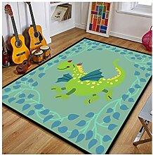 GZP Innenteppich Handgemalte Teppich für Kinder