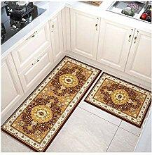 GZP Innenteppich Küchenbodenmatte , Rutschfeste