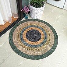 GZP Innenteppich Runde Teppich, handgemachte