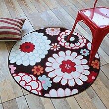 GZP Innenteppich Runde teppiche Schlafzimmer