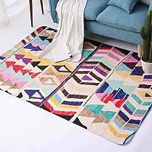GZP Innenteppich Teppich Vorne Bett Teppich Teppich Teppich Nachttisch Wohnzimmer Moderne Handwäsche Rechteck Decke (Farbe : #2, größe : 150*230cm)