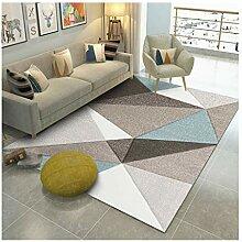 GZP Innenteppich Teppich Wohnzimmer, einfaches