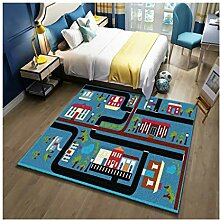 GZP Teppiche Teppich Rutschfeste Kinderspielmatte