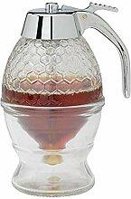 GZQ Honigspender aus Acryl-Sirup, Behälter für