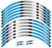 GZSC 8-Art-Motorrad-Rad-Reifen Rim Aufkleber