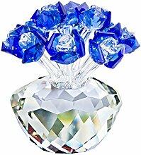 H&D Dekofigur, Blumenstrauß mit blauen