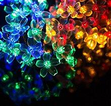 Solar lichterkette au en bunt g nstig online kaufen lionshome - Lichterkette rattankugeln ...