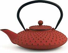 H&H 748639 Teekanne aus Gusseisen und Emaille,