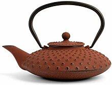 H&H 748646 Teekanne aus Gusseisen und Emaille,