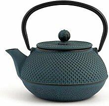 H&H 748653 Teekanne aus Gusseisen und Emaille,