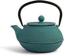 H&H 748677 Teekanne aus Gusseisen und Emaille,
