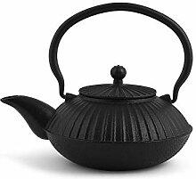 H&H 748684 Teekanne aus Gusseisen und Emaille,