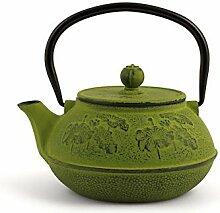 H&H 748714 Teekanne aus Gusseisen und Emaille,