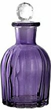 H&H 8149200 Set 2 Flaschen Glas Purple 16 Kappe