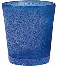 H&H Giada Jade-Likörglas, 5 cl, Glas, Blau, 6