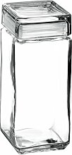 H & H H & H 98666. Landmark Vorratsdose Glas, 2500cc