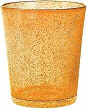 H&H Set Von 6 Gläser Glas Jade Drink Orange Cl46 Glas Weinglas Und Kelch