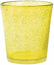 H&H Set Von 6 Gläser Glas Jade Tabelle Cl28 Gelb