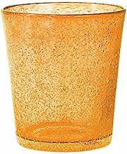 H&H Set Von 6 Gläser Glas Jade Tabelle Cl28 Orange Glas Weinglas Und Kelch