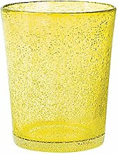 H&H Set Von 6 Gläser Glas Jade Trinken Cl46 Gelb Glas Weinglas Und Kelch