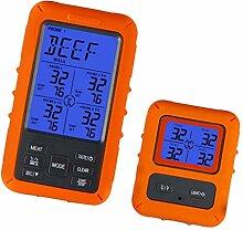 H HILABEE Digitales Fleischthermometer,
