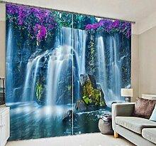 H&M Gardinen Vorhang Violet fällt Schatten Tuch