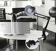 H&M Tischleuchte Amerikanische Langwaffen schmiedeeiserne Lampe lesen Auge Büro Faltung Tischleuchte , b
