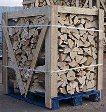 H-O Brennholz 100% Buche für Kaminofen, Ofen,