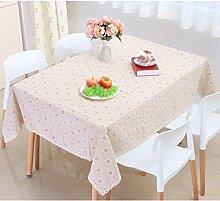 H&S Seelsorge der Gewebe Tischdecken square Staub Home niedriger Tisch Tischdecke, 1 120 * 160 cm