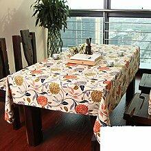 H&S Tischdecke/amerikanischen Stil, Dorf, [moderne], einfachen, ländlichen Tischdecke - ein 140 x 140 cm (55 x 55 Zoll)