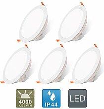 H&T LED Einbaustrahler Ultra Flach Deckenstrahler