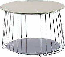 H24living Design Beistelltisch Couchtisch rund