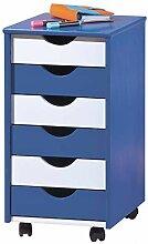H24living Rollcontainer Bürocontainer Rollschrank