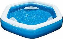 H2O Go! Bestway Sechseck Familien-Plansch- und